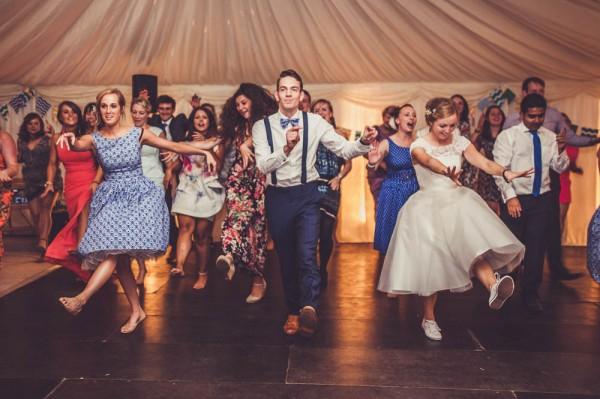 Bruiloft flash mob