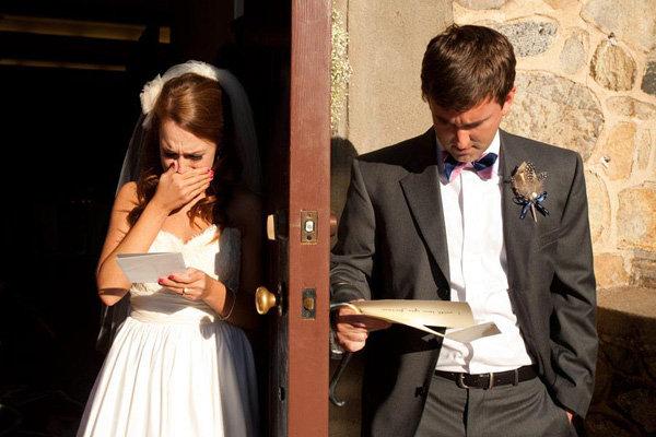 Bruidspaar brief
