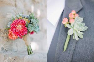 Vetplantjes ideeën op bruiloft