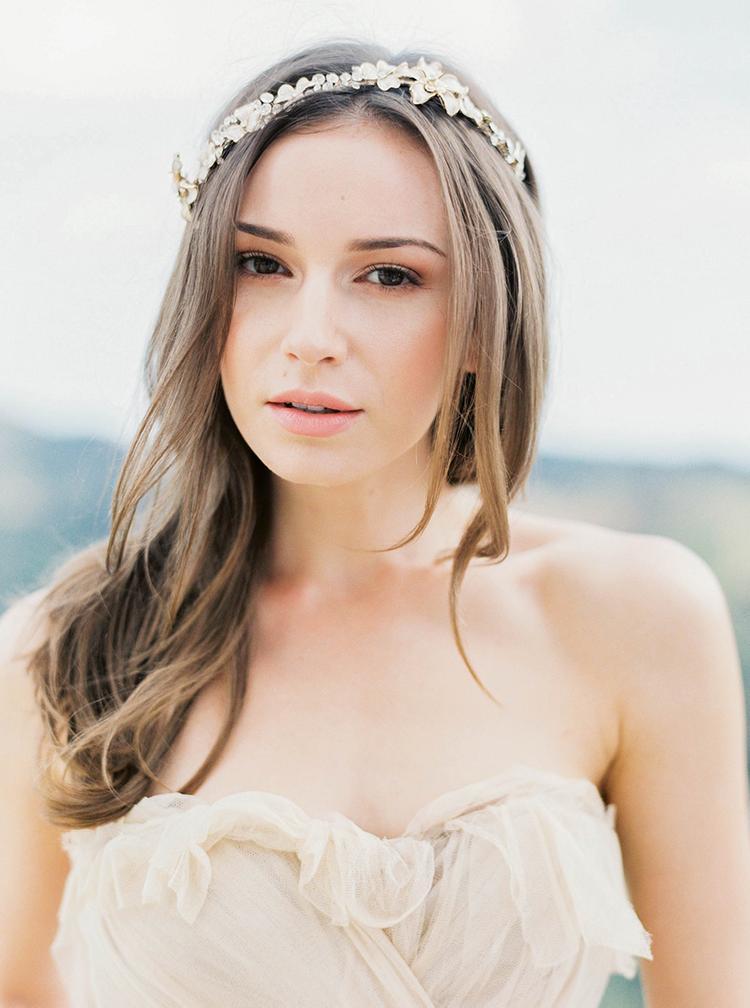 Bruid met natural make-up