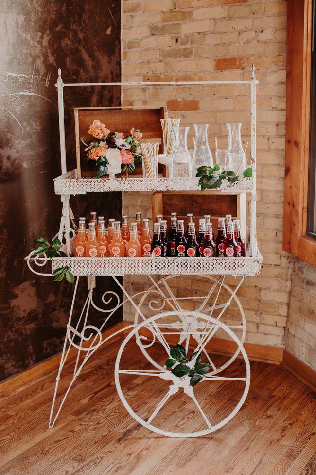 Vintage decoratie bruiloft