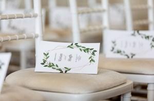 Programmaboekje bruiloft ceremonie