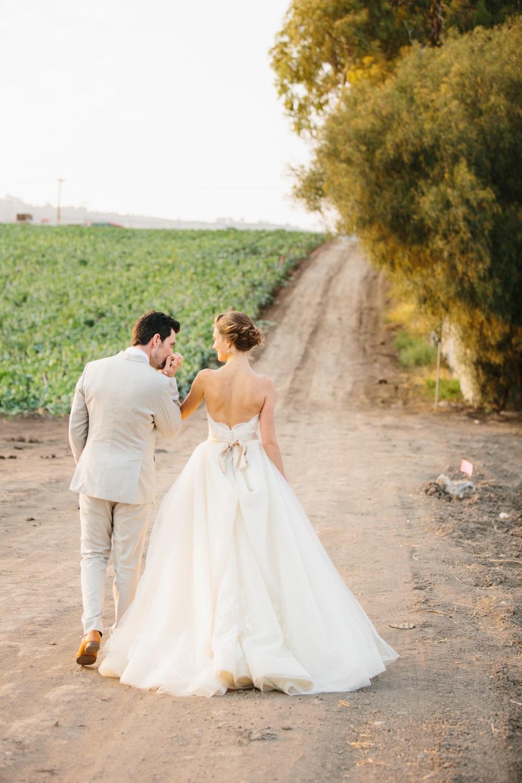 Foto van het bruidspaar