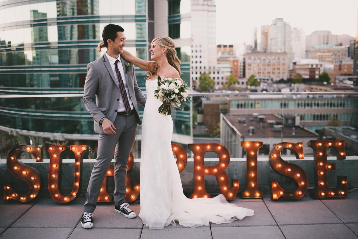 Surprise huwelijk