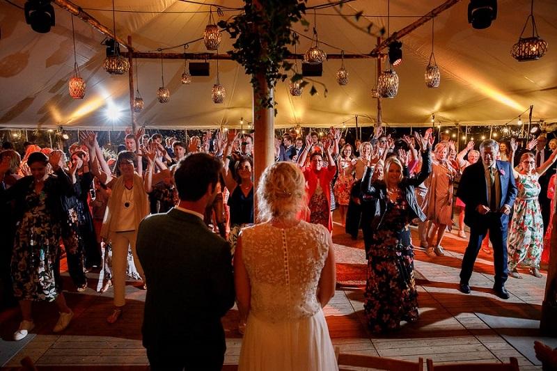 Flashmob als bruiloft stukje