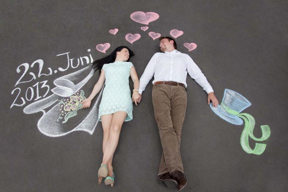 Hedendaags Save the date bruiloft: 7 Originele ideeën | Bruiloft Inspiratie DC-23