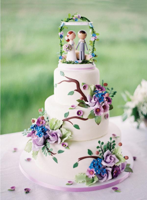 Bruidstaart poppetjes gepersonaliseerd