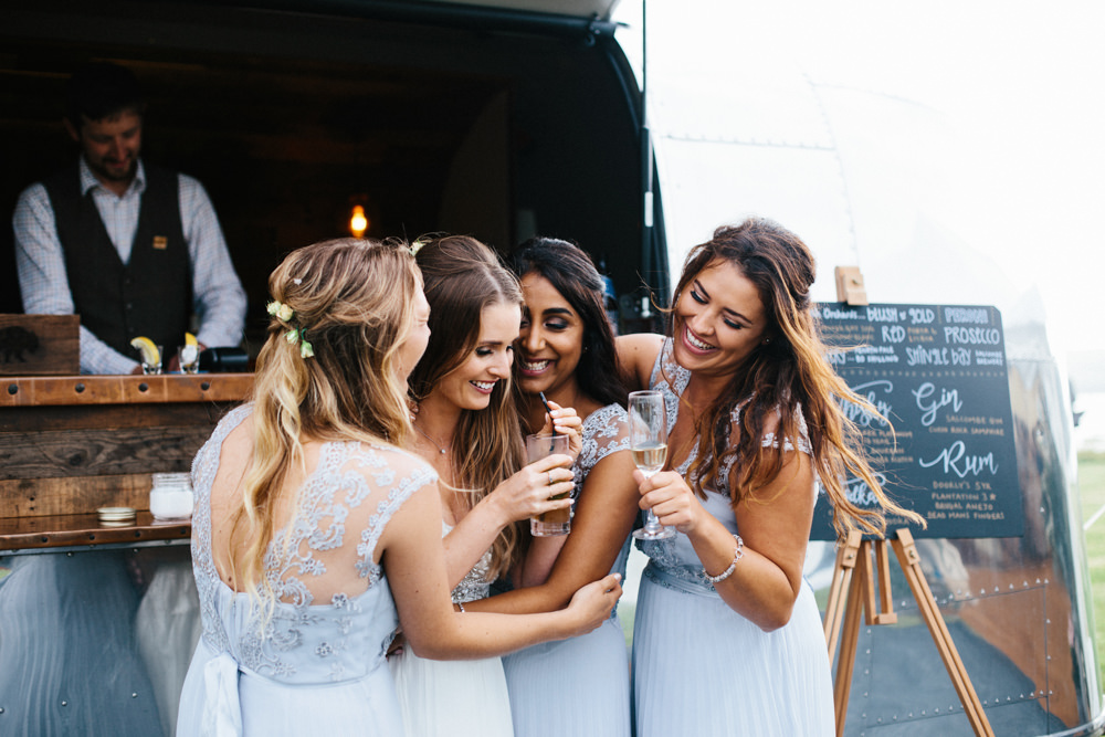 Bruiloft bar met alcoholische dranken