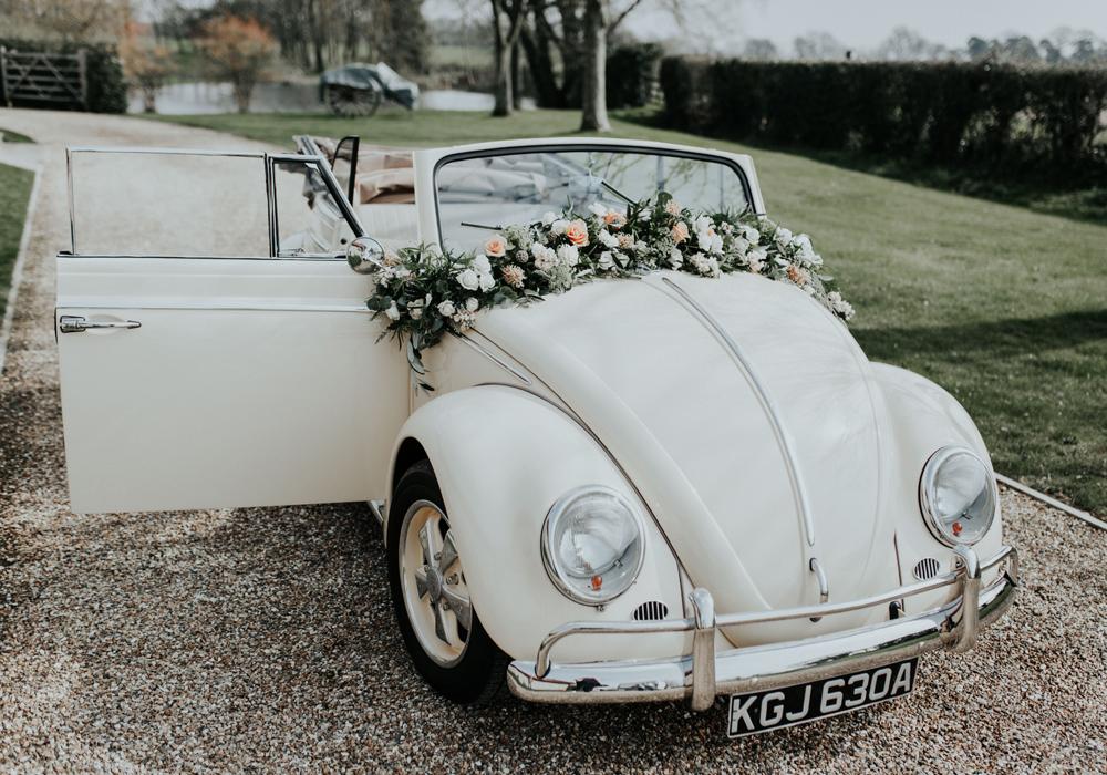 auto bruiloft