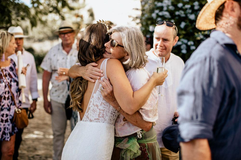 Felicitatie bruid