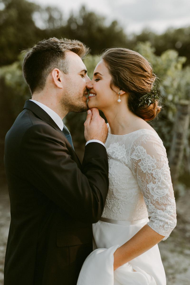 Bruidspaar feliciteren