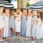 Bruid met vriendinnen