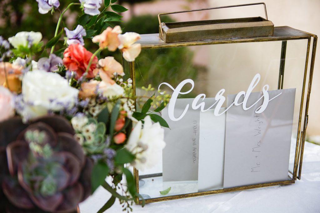 Kaartenbox bruiloft