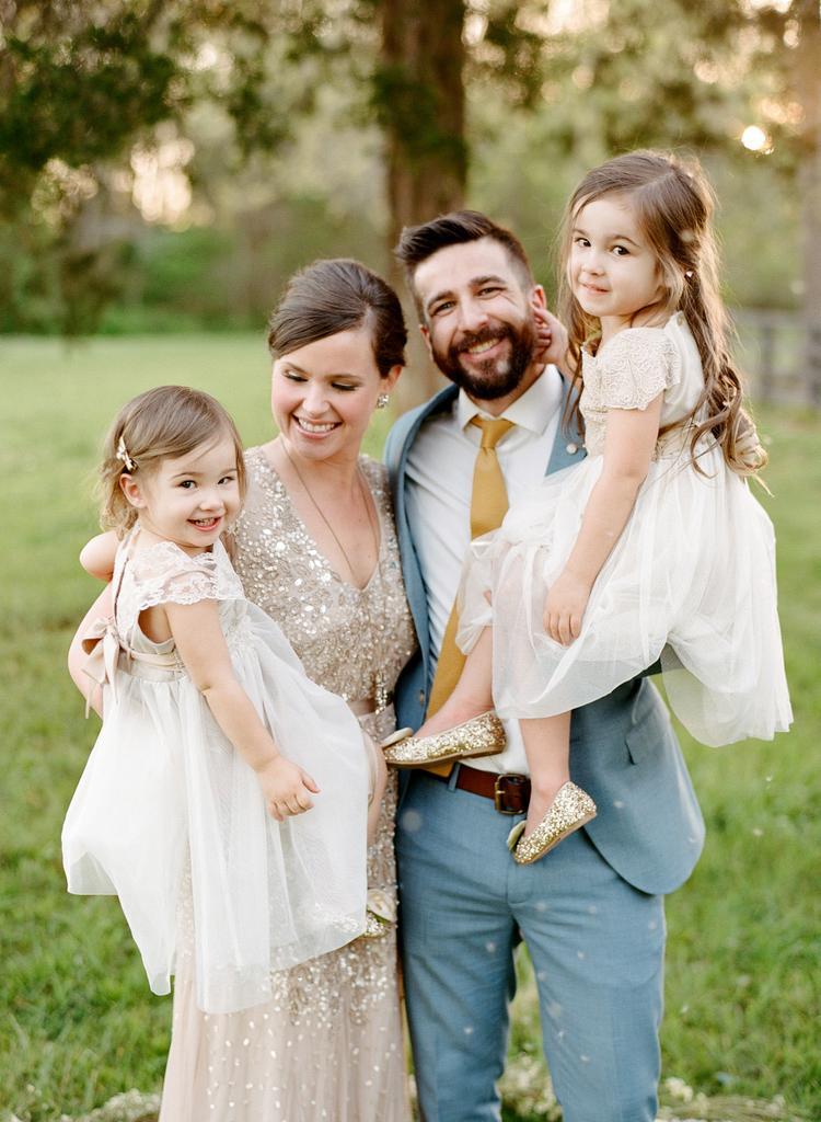 Stel dat 10 jaar getrouwd is samen met hun kinderen