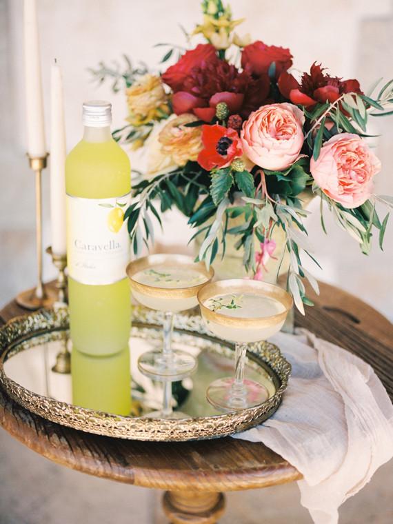 Welkomstdrankje met limoncello