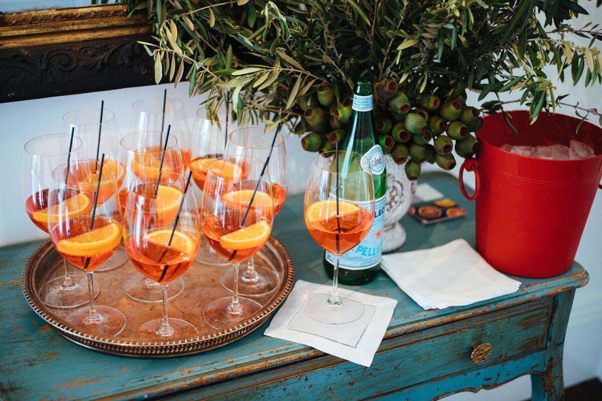 Drankjes voor de bruiloft