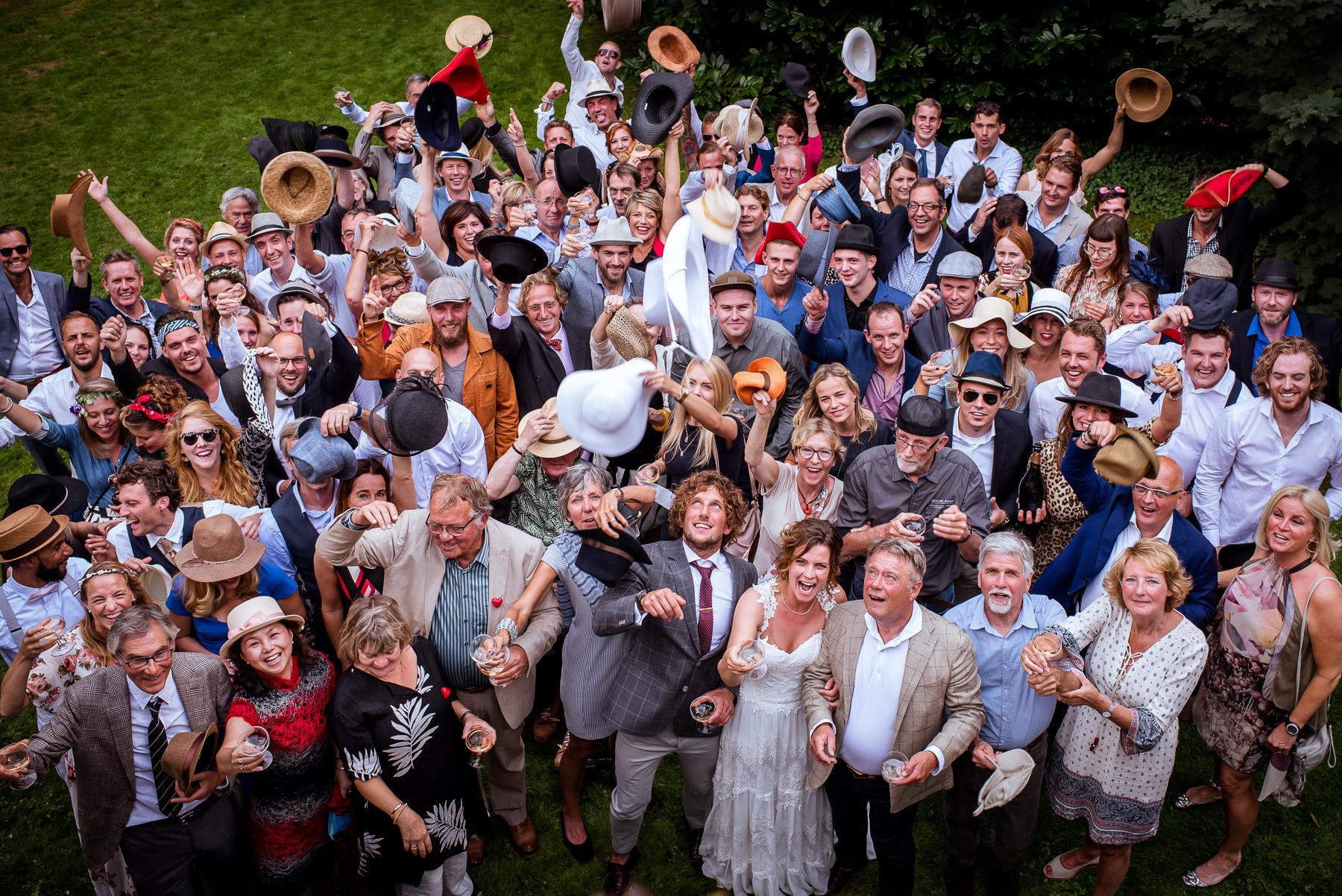 Aantal gasten op de bruiloft