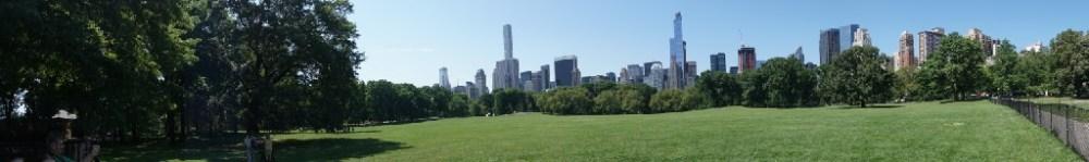 Central Park in de ochtend