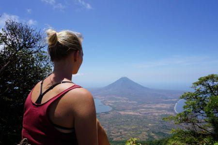 View Concepcion Volcano Maderas