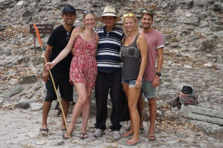 Our group in the Copan Ruinas