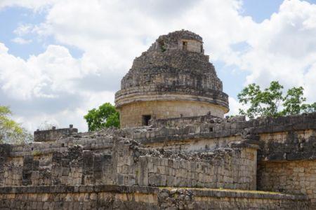 "The ""El Caracol"" observatory temple."