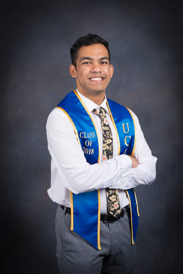Neil J. D'Silva: 2018 UCLA Senior of the Year