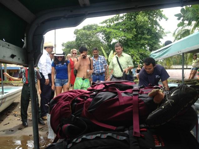 Tortuguero National Park boat ride