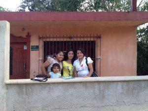 Oxkutzcab Yucatan girls