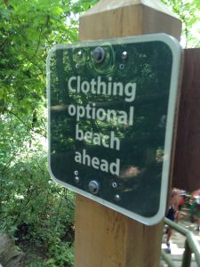Nudist Beach in Vancouver