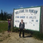 British Columbia and Yukon Territory border