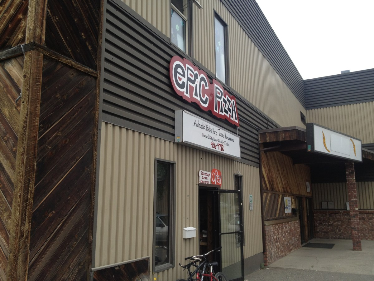 Why You Should Stop at Epic Pizza in Whitehorse, Yukon Territory — By Jennifer Shipp