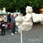 Living Statue at Cervantino Internacional Festival