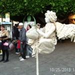 Living Statue at Cervantino Internacional Festival