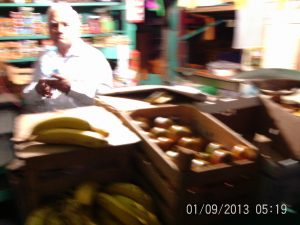 The Vegetable Man in Guanajuato