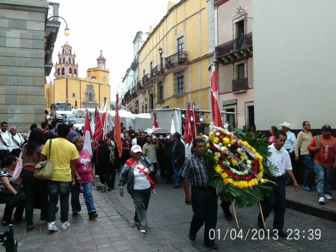 Funeral Procession in Mexico
