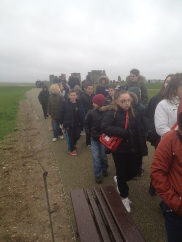 Many classes of students were on field trips visiting Stonehenge while we were there. What a fun place to go on a field trip!