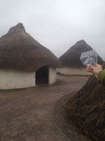 Here are some reconstructed Druidic houses.