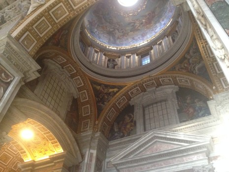 St. Peter's provides an excellent example of Renaissance architecture and artwork.