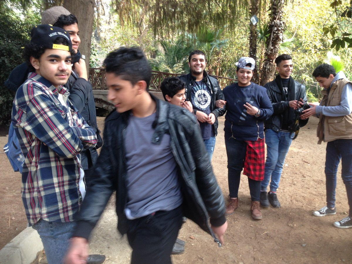 Arabic Encounters at Orman Park in Cairo, Egypt — By Jennifer Shipp