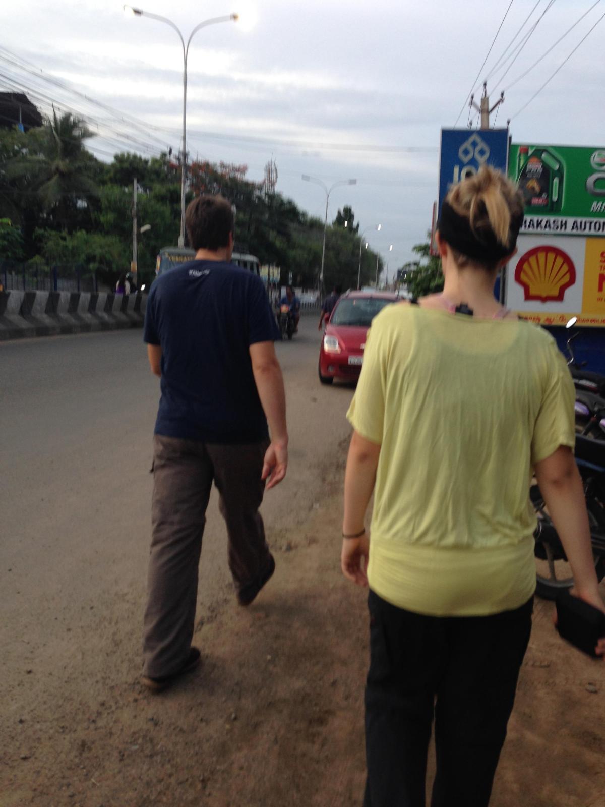 A Day in Chennai: Walking to Kapaleeswarar Temple