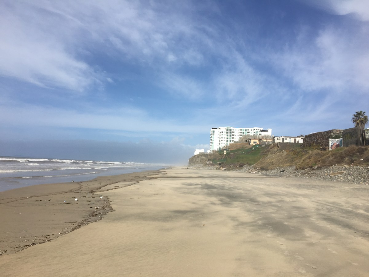 Things to Do in Tijuana: The Beach Along the Border