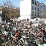 Bicycles Outside the Temple of Heaven