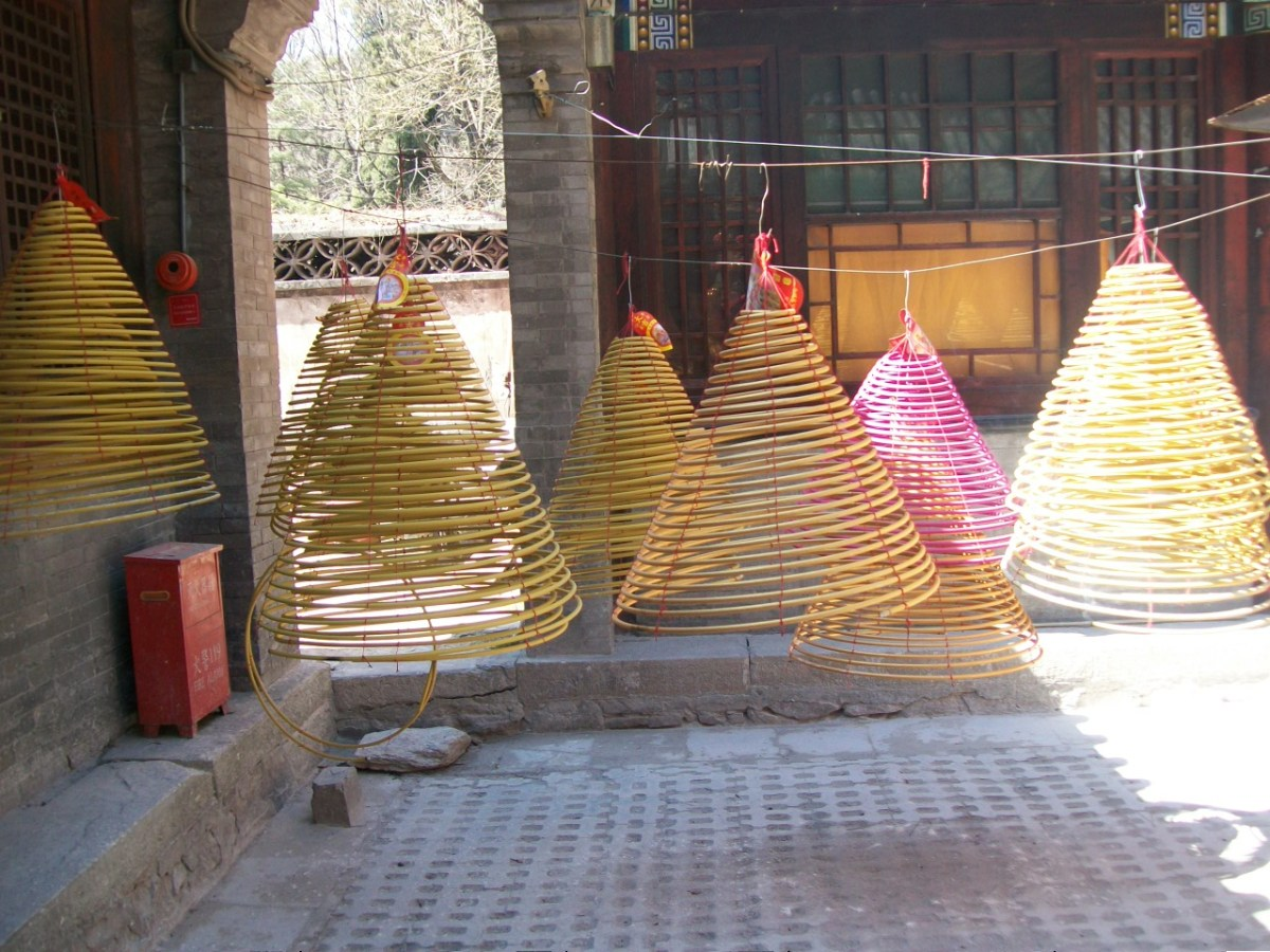 Places to Visit in Beijing: Tanzhe Temple Incense