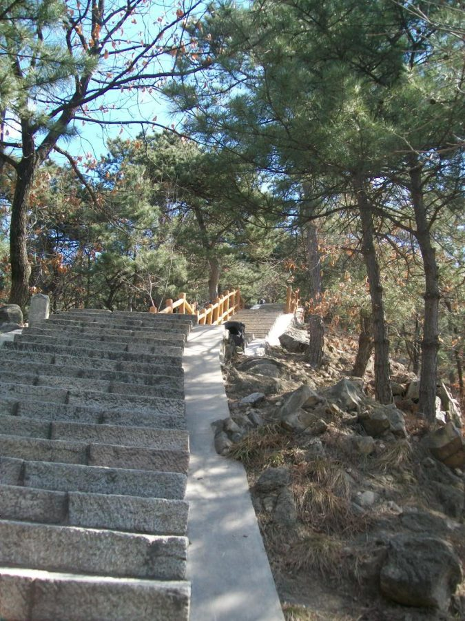 Places to Visit in Beijing: The Stairs Leading to the Mutianyu Great Wall