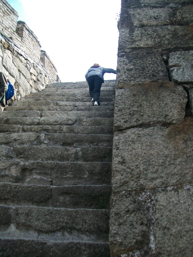 Places to Visit in Beijing: Steep Stairs on the Great Wall of China (Mutianyu)