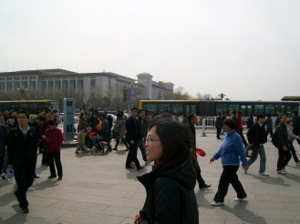 Another picture of Tiananmen Square, Beijing.