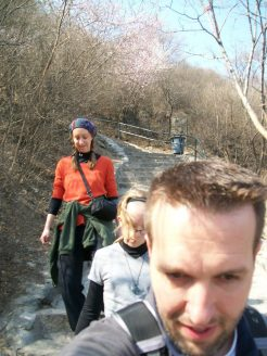 Selfie Beijing China Fragrant Hills