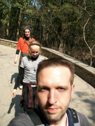 Selfie Beijing China Fragrant Hills Park