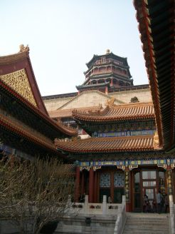 The Summer Palace, as the largest royal park in Beijing, was one of the prettiest places we went to.