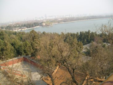 View from the Summer Palace, Beijing.